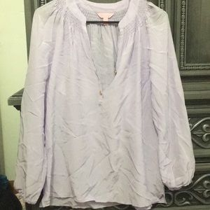 Clearance! Lilly Pulitzer Elsa top in Lilac